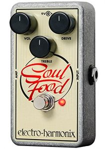EHX Transparent Overdrive Pedal