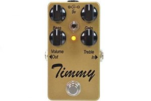 Timmy Transparent Overdrive Pedal