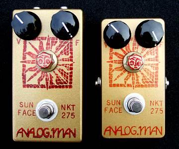 Analogman Sun Face Fuzz Pedal