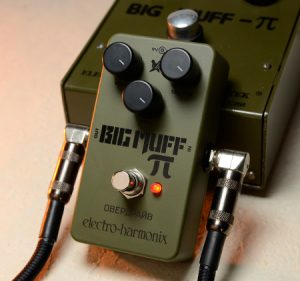 EHX Green Russian Big Muff Fuzz